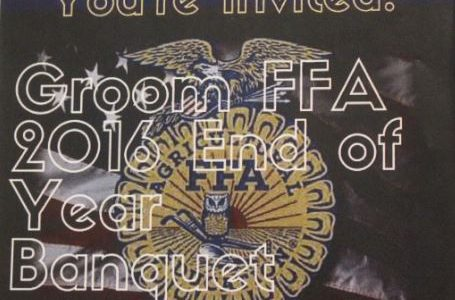 FFA Update – Time Change for Banquet