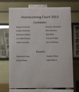 Homecoming 2013 details