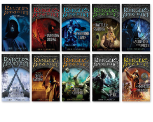 10 out of 11 books in the series.