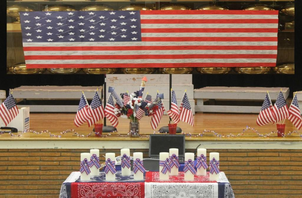 Groom residents young and old will gather at Groom ISD tonight for the Veteran's Day Program, which will begin at 7. This event will be held in the school's auditorium. All veteran's and those who want to honor them at the same time.