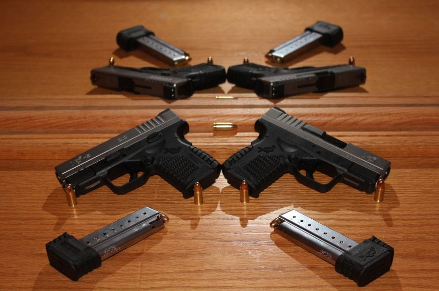 Some Texas schools are  working on policies that may allow teachers  to carry concealed guns. Palmer ISD  already has acted on the state law that allows this type of protection. Guns, such as a Springfield 9 mm XDS, might be considered for teachers and administrators to have available for protection in the event of an emergency, such as a shooter on campus. Palmer ISD has opted to go with yet another option,
