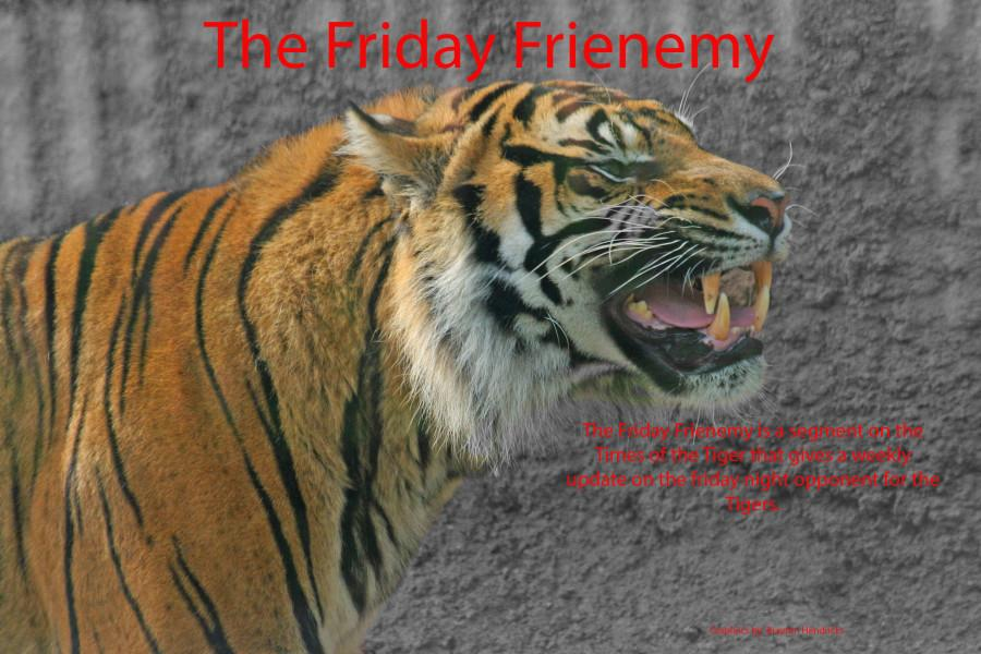 The Friday frienemy graphic was made by Brayton Hendricks. The friday frienemy is a weekly preview of the Tigers opponent written by Editor, Jacob Clifton