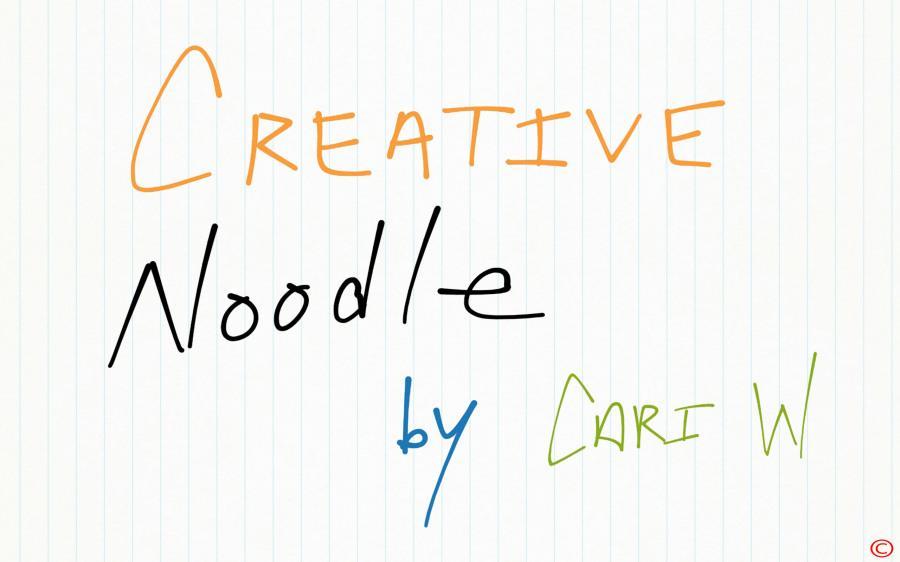 Creative Noodle - Blog #1
