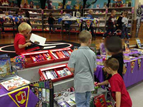 Book Fair earns almost $2,000 for Library