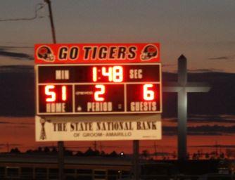 Tigers defeat Petersburg 51-6