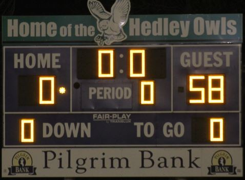 Tigers defeat Hedley 58-0