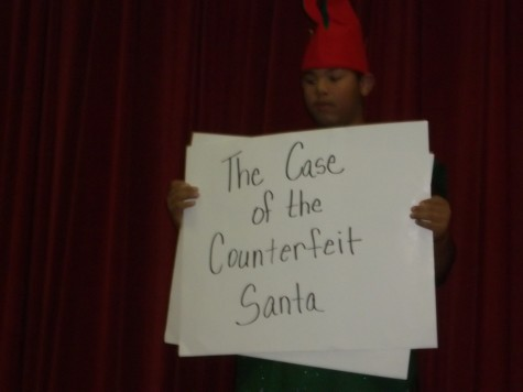 Flu Cases don&#8217;t stop<br> &#8216;The Case of the Counterfeit Santa&#8217;