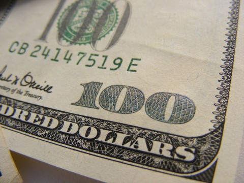 Students who attend Ms. Boyers financial aid meeting could win two of these crisp $100 bills. The meeting will be Monday night at 6:30 p.m.
