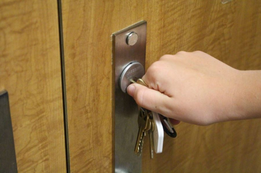 Administrators made certain all doors were locked during a period of
