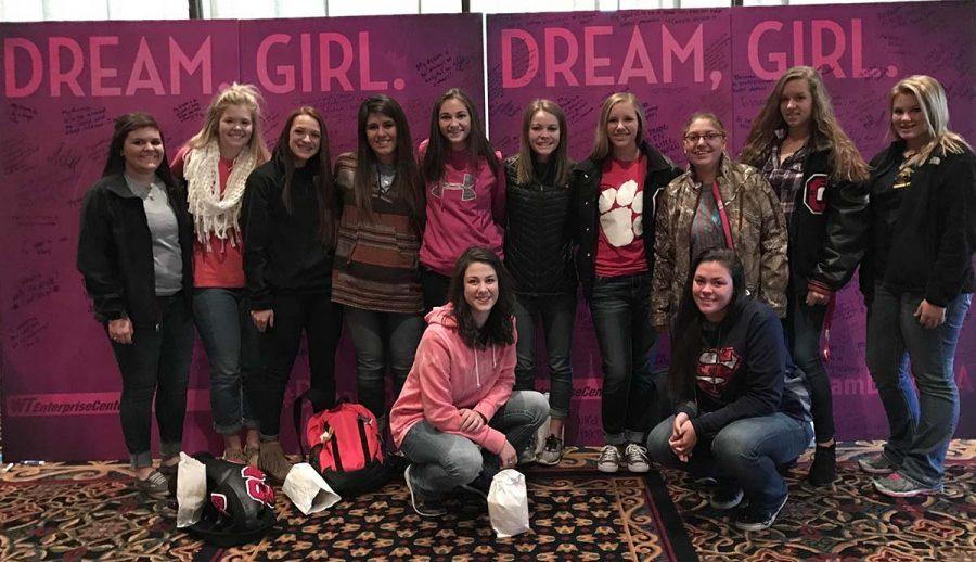 Nov. 18, Groom girls joined hundreds of other high school girls in grades 10-12 from around the Panhandle  in the Amarillo Civic Center to watch Dream, Girl, a documentary that showcases the stories of inspiring and ambitious female entrepreneurs.  It was very interesting, junior Helena Ybarra said. Producer Erin Bagwell even came in to personally inspire viewers. It was obvious to see that she (Bagwell) really did care about she was showing us and about what she put into her film, junior Chelsey Lamb said.