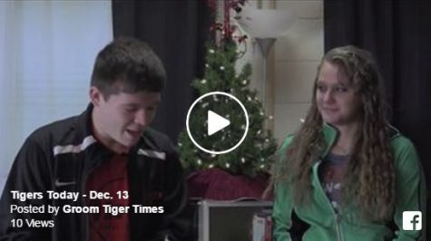Station Manager and head anchor Matthew Bowen is joined by Chandra Rice to give today's news and views for the Dec. 13 episode of Tigers Today.
