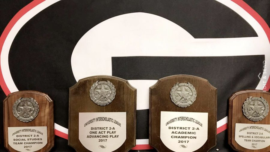 Yesterday, Groom high school students won the UIL Academic meet in Clarendon. The competitors will move on to Regionals down in Levelland. Thirteen students are advancing.