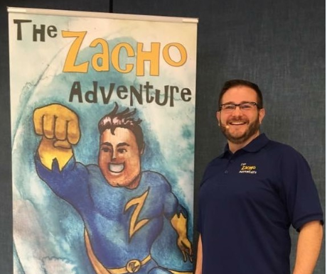 Author Stephen Hartman performs shows in schools across the Texas Panhandle to encourage children to pursue the message and the principles in his book, The Adventures of ZACHO. He performed in Groom this semester, and many students said they wanted to learn more about him and his message.