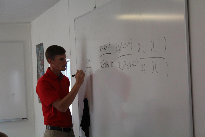 Coach and math teacher Josiah
