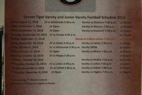 Football Schedules