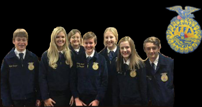 Pictured above is the Senior Chapter Conducting team, made up of Katelyn Burger, Kaylie Ritter, Mallie Williams, Logan Burger, Laurel Fields, Braxton Johnson and Halle Barkley. This team placed second at district and are heading to compete at area on Saturday, November 17. Im really excited about this contest, junior Kaylie Ritter said. Weve come a long ways since we first started.