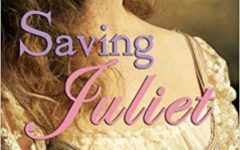 Saving Juliet by Suzanne Selfors is a book that changes the plot of  Shakespeare play Romeo and Juliet where they both die tragic deaths, but instead they never meet and Benvolio's the one falling in love with a Capulet; all because of a Shakespearean Charm that brought Mimi to Verona.