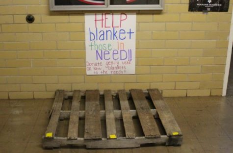 Canned Food Drive-Photo of the Day-Dec. 17