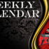 Weekly Calendar and Menu: Jan. 28 – Feb. 01