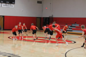 """Photo of the Day – Oct. 29 – """"Indoor Football Practice"""""""