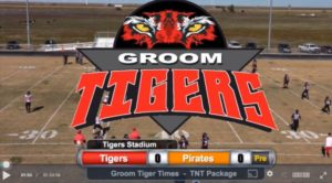 LIVE TNT Broadcast: Groom Tigers vs. Lefors Pirates-3pm Oct. 26