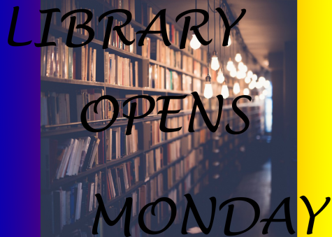 Library Opens Monday 8/24/2020