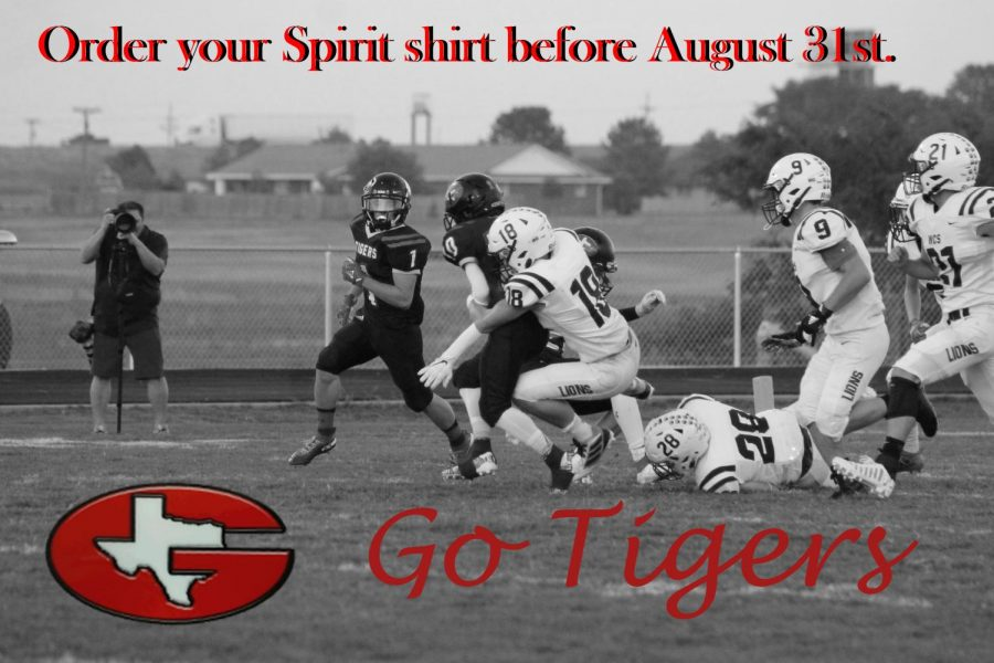 Support the Tigers with Spirit Shirts