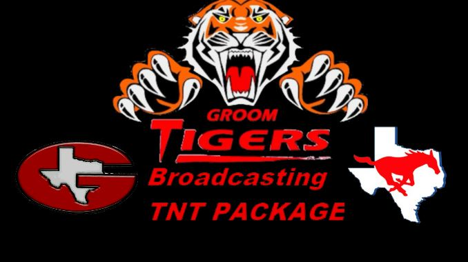 Groom Tigers Vs. Claude Mustangs LIVE TNT Broadcast Sep. 18, 2020