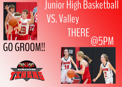 Junior High Basketball TONIGHT @5pm