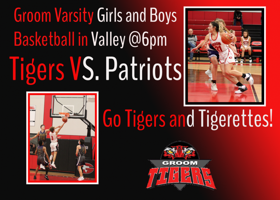 Varsity Basketball TONIGHT at Valley