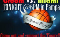 Bi-District Playoffs TONIGHT @6PM in Pampa