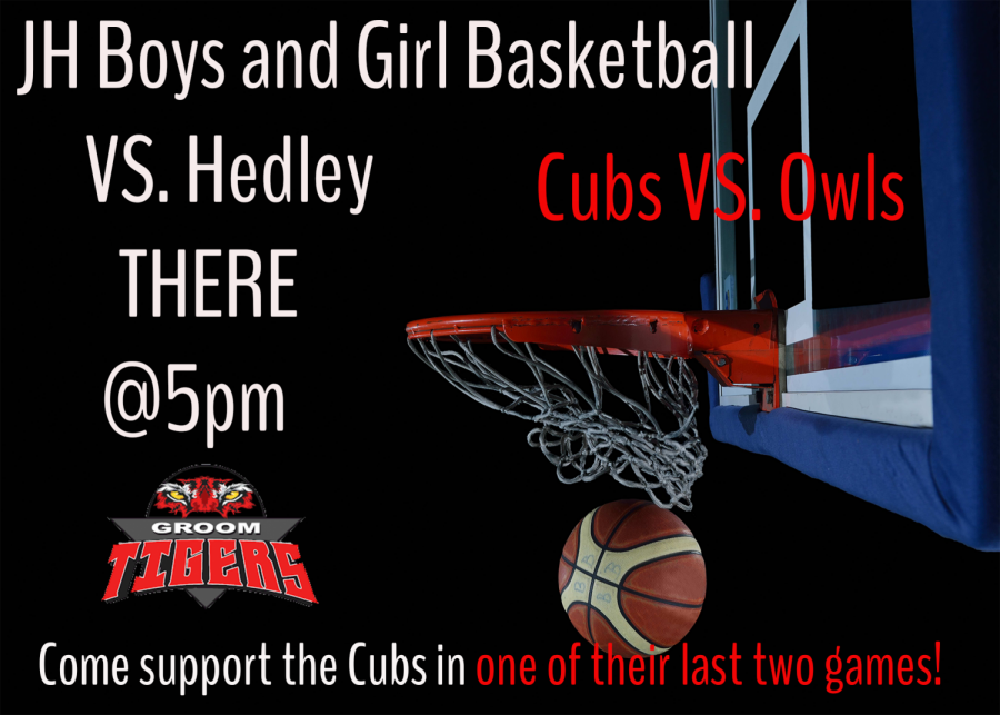 Go and support your Cubs as they take on the Owls.