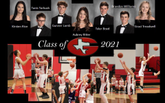The seven basketball seniors of the 20-21 season. Even though this game will be fought through sweat, tears, and lots of goodbyes. These seniors have given there all for every second of every game.